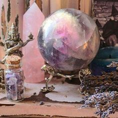 Read Wicca from the story A E S T H E T I C S by Midnight_Ramblings with 801 reads. Another fun fact about me, I'm Wiccan! Crystals Minerals, Rocks And Minerals, Crystals And Gemstones, Stones And Crystals, Wicca Crystals, Crystal Magic, Crystal Grid, Crystal Ball, Crystal Room