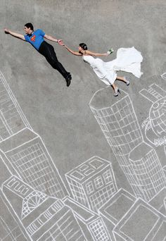 Cool Wedding Photography | Because every man should be his lady's superhero !! by Gardner Hamilton