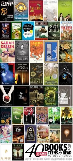 Best of Young Adult fiction | YA book list | Young adult books to read | reading list