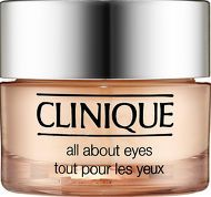 Clinique Eye and Lip Care All About Eyes Reduces This is a lightweight cream-gel formula that diminishes the appearance of puffiness, darkness and fine lines around the eye area, and also helps to hold eye makeup in place. http://www.comparestoreprices.co.uk/january-2017-8/clinique-eye-and-lip-care-all-about-eyes-reduces.asp