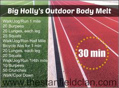 h-school-track-workout. This takes me about 30 minutes to complete, sometimes… Treadmill Workouts, Running Workouts, Fun Workouts, At Home Workouts, Cardio, Football Workouts, Running Humor, Body Workouts, Running Tips