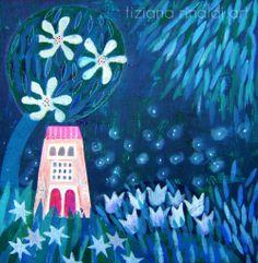 Nessuno dal Cielo resta defraudato - Tiziana Rinaldi #art #night