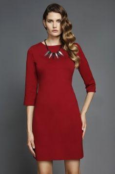 ΝΕΑ ΠΡΟΪΟΝΤΑ : Φόρεμα ελαστικό με τρουακάρ μανίκι