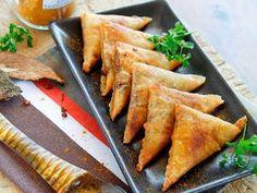 Samoussas boeuf curry, facile et pas cher