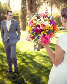 Beautiful bouquet. Jess and Micah » Urban Flowers
