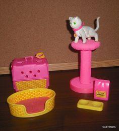 Barbie's Kitten Fluff Set by Mattel, 1982