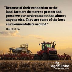 Farmers are environm