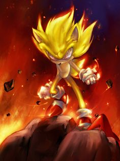 Fleetway Super Sonic | Should Fleetway's Super Sonic be in a future Sonic game? | IGN Boards