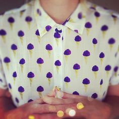 this is adorable- kinda reminds me of @catherine gruntman gruntman Douglas maybe because of the purple and yellow