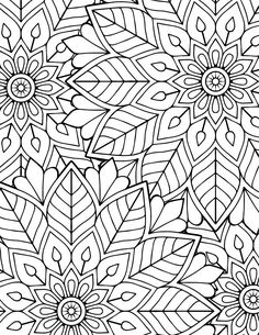 Tigers - Printable Adult Coloring Page from Favoreads (Coloring book pages for adults and kids, Coloring sheets, Coloring designs) Our tigers are resting. The ideal moment to take your pencils and start working on this printable coloring sheet. Shape Coloring Pages, Detailed Coloring Pages, Pattern Coloring Pages, Easy Coloring Pages, Printable Flower Coloring Pages, Printable Adult Coloring Pages, Mandala Coloring Pages, Coloring Books, Coloring Sheets