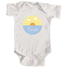 Florida Ocean Sunset - Florida Infant Onesie/Bodysuit