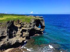 沖縄を代表する景勝地「万座毛」