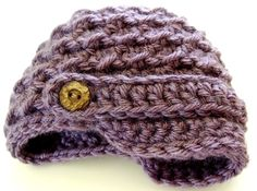 Newsboy / Newsgirl Hat / Dusty Purple by MyMoJoBaby on Etsy, $20.00