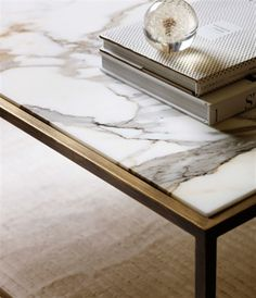 Metal Contemporary Siena Coffee Table