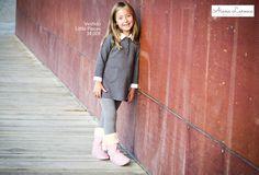 Vestido para niña ya disponible en http://aianalarocca.com/ #modainfantil