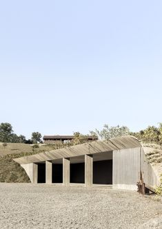 Gallery of Agricultural Machinery Depot / deamicisarchitetti - 1