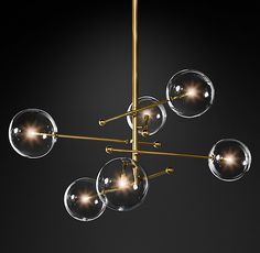 This Stylish modern design glass ball chandelier 6 heads clear glass bubble lamp is perfect for any room. Shopping the modern classic suspension lamp at Aatol, . Bubble Chandelier, Globe Chandelier, Linear Chandelier, Contemporary Chandelier, Chandelier Shades, Pendant Lamps, Pendant Lights, Natural Chandeliers