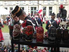 Marché des traditions à Montivilliers à coté du Havre Mai 2013 (souvenir pour l'armée de Napoléon )