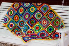 Circle of Friends Afghan pattern can be found at http://www.ravelry.com/patterns/library/circle-of-friends-square