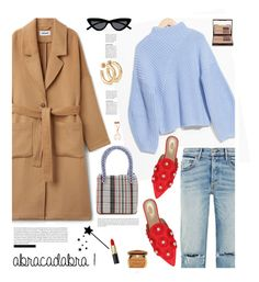 """ABRACADABRA!"" by hamaly ❤ liked on Polyvore featuring Le Specs, Charlotte Tilbury, Aquazzura, Too Faced Cosmetics, outfit, ootd, bags and trends"