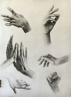 Study of hands, charcoal-bianca paraschiv art charcoal sketch, charcoal art, charcoal Anatomy Sketches, Body Sketches, Art Sketches, Charcoal Sketch, Charcoal Art, Charcoal Drawings, Human Anatomy Drawing, Anatomy Art, Drawing Techniques