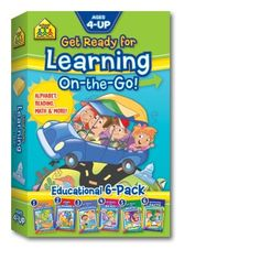 Seis libros de tamaño de viaje suministrarán más de 280 páginas de actividades. Nuestros pequeños libros están llenos de sorpresas y nuevas aventuras en el aprendizaje y refuerzo de habilidades de lectura y matemáticas. Cinco de los libros están dirigidos a preescolar, jardín de infantes y primer grado, y el sexto libro avanza a tercer y cuarto grado.