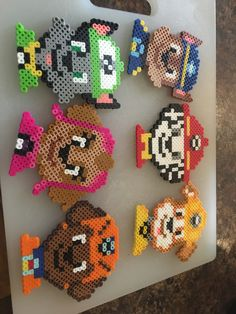 Famous Last Words Quilting Beads Patterns Easy Perler Bead Patterns, Melty Bead Patterns, Perler Bead Templates, Diy Perler Beads, Perler Bead Art, Beading Patterns, Peyote Patterns, Hamma Beads 3d, Fuse Beads