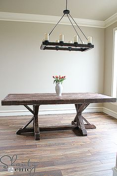 Build Your Own Dining Room Table With These Free Plans  Dining Best Design Your Own Dining Room Table Review