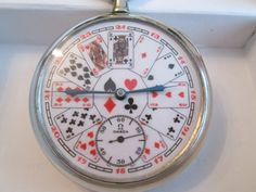 VINTAGE OMEGA pocket watch playing cards dial EXCELLENT by watcheshop on Etsy https://www.etsy.com/listing/207658546/vintage-omega-pocket-watch-playing-cards