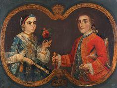 Manuel Antonio Payno de Bustamante y Señora. 1735