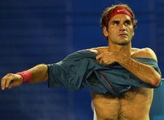 Roger Federer, January 2014