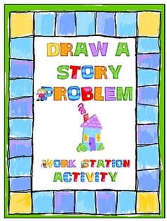Free on TpT 4th Grade: Draw a Story Problem classroom, idea, school, mothers day, stori problem, math centers, writing, teacher, word problems