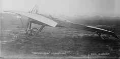"""Early Aviation - The """"Deperdussin"""" monoplane"""