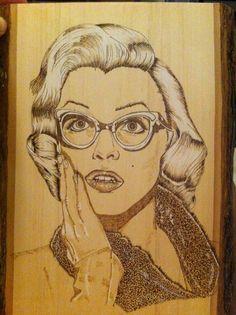 Oh My! Marilyn Monroe by jpitre1  | This image first pinned to Marilyn Monroe Art board, here: http://pinterest.com/fairbanksgrafix/marilyn-monroe-art/ || #Art #MarilynMonroe