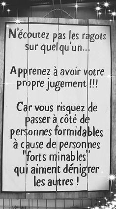 The Words, Cool Words, Daily Quotes, Best Quotes, French Language Lessons, Positive Inspiration, French Quotes, Psychology Facts, Positive Attitude