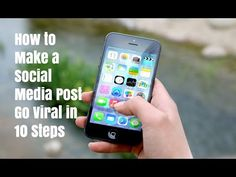 How to make a social media post go viral in 10 steps. Visit http://ift.tt/2jo8hjh for video notes related content and all helpful resources mentioned.   Let's Connect! Twitter - https://twitter.com/MrJustinBryant  Facebook -  http://ift.tt/1LQomnx  Google - http://ift.tt/1PaQTrN  In this video you will learn how to make any social media post go viral using 10 steps. If you can just make one post on Facebook Twitter or any other social media platform go viral you can earn thousands of…