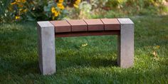 5 Questions with Douglas Thayer Concrete Furniture, Bench Furniture, Furniture Design, Outdoor Furniture, Wooden Diy, Wooden Signs, Curved Bench, Expensive Art, Outdoor Rooms