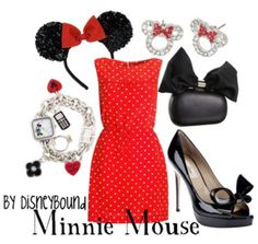 I must dress up as Minnie Mouse to a fancy dress one day. I have always wanted to!!xx