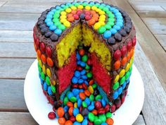 rainbow recipes pinata | Rainbow Pinata Cake | ifood.tv