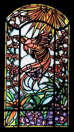 Pin By Gloria Reimers On My Colored Pencil Stained Glass