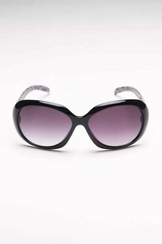 Rosie Black Over Butterfly Sunglasses--I. Want.