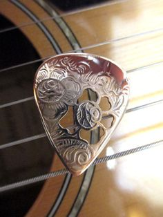 Vintage Silver & Brass Guitar Pick Gibson Taylor Lot for Acoustic Electric Dobro #GibsonFender Made by my husband!