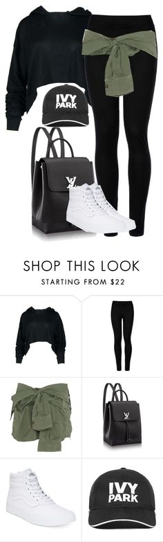 """Untitled #443"" by larryisreal123 ❤ liked on Polyvore featuring Wolford, Faith Connexion, Vans and Ivy Park"