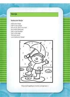 Versje: Kabouter Basje Yoga, Autumn, Fruit, School, Activities, Rain, Fall, Schools, Yoga Sayings