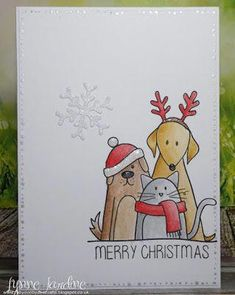 Diy christmas cards 363947213635583472 - Ruby-Dooby-Doo Crafts: Christmas Critters Source by Christmas Cards Drawing, Christmas Sketch, Christmas Doodles, Watercolor Christmas Cards, Watercolor Cards, Christmas Art, Handmade Christmas, Winter Christmas, Christmas Lights