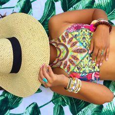 Hipanema bracelet & Maaji Ambar Ambrosia Top @ Orchid Boutique