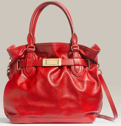 Burberry Belted Leather Satchel