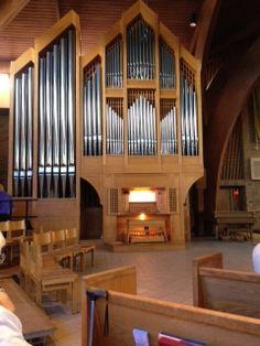 Létourneau Pipe Organ at St. Francis of Assisi Catholic Church, Ann Arbor MI