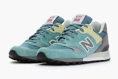 "New Balance 577 ""Aqua Suede"" - Made In England #sneaker #newbalance #sneakersholic.com #nb577 #aqua"