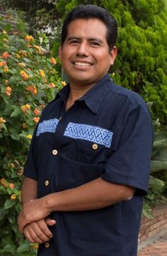 """Mario is a weaver from Oaxaca, Mexico who specializes in handwoven Zapotec rugs and handbags. He would like to invest in a bulk purchase of wool and increase the size of his workshop.  """"I come from a family of weavers, it is a legacy I inherited from my great-grandfather. My aim is to preserve and promote the beauty of the Zapotec art. We dye the wool with natural colorants and we work on pedal looms."""""""
